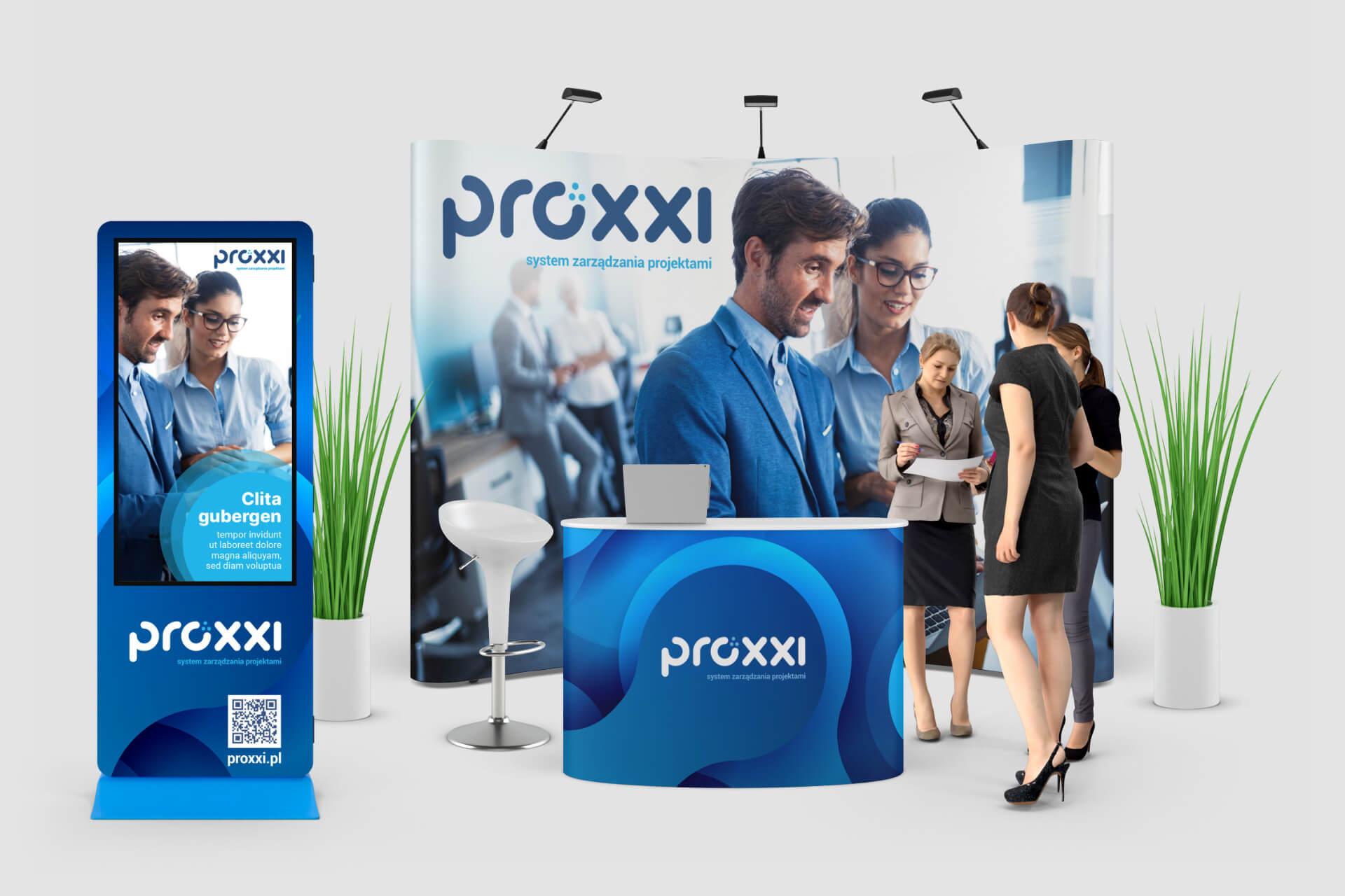 Proxxi - wizualizacja stanowiska targowego