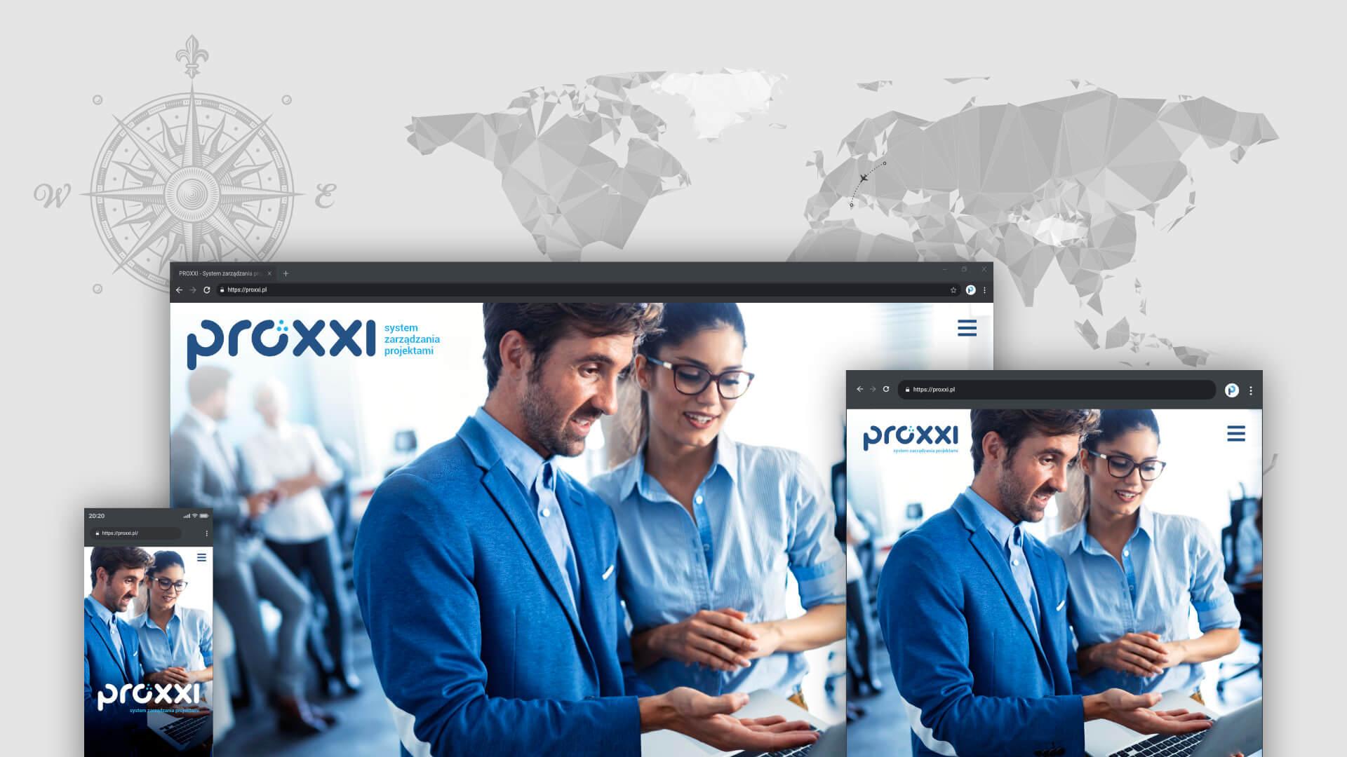 Proxxi - strony internetowe